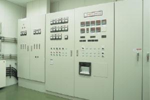 第3工場 制御室・制御パネル
