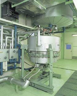 第3工場 加圧ろ過器